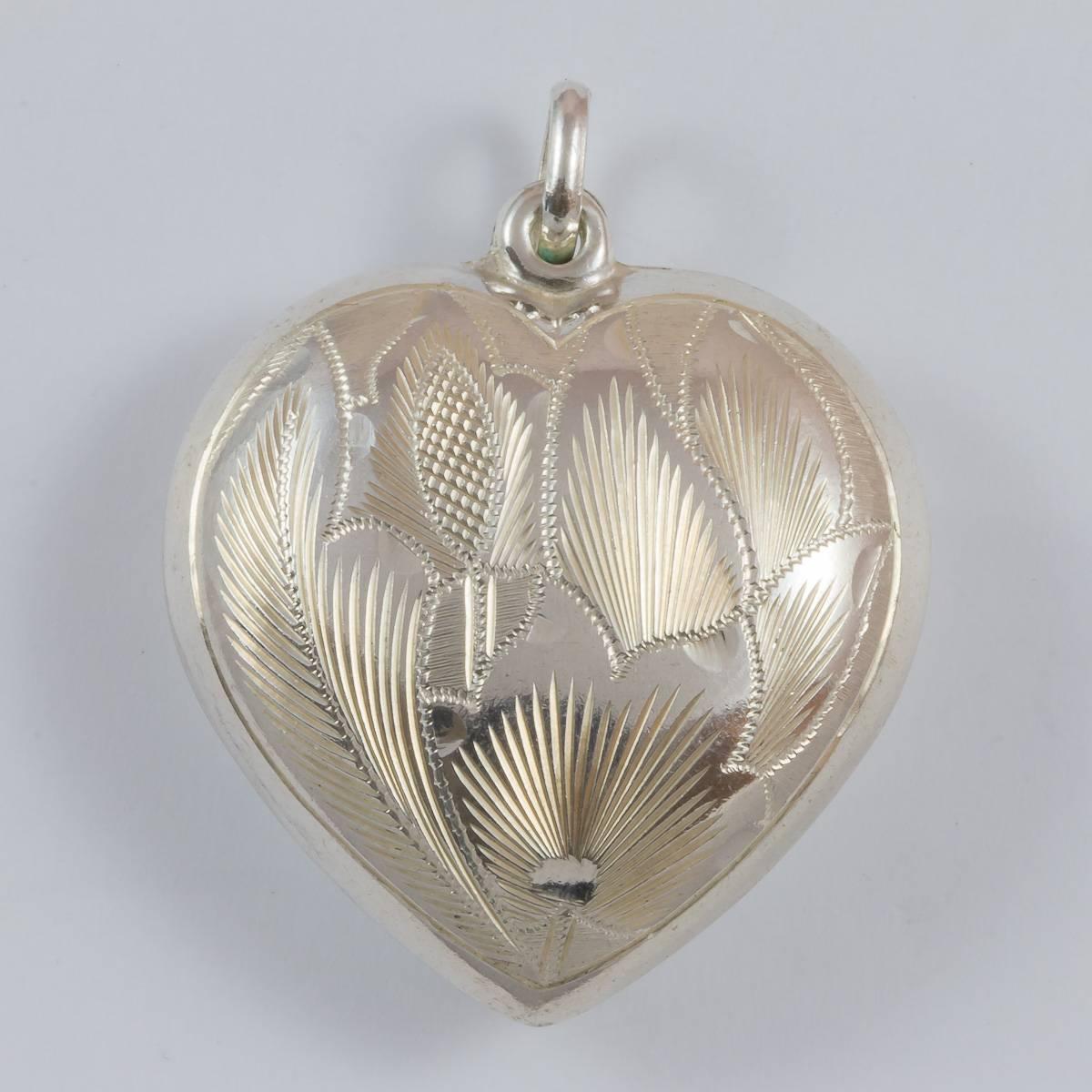 Herz, 35 mm, einseitig graviert
