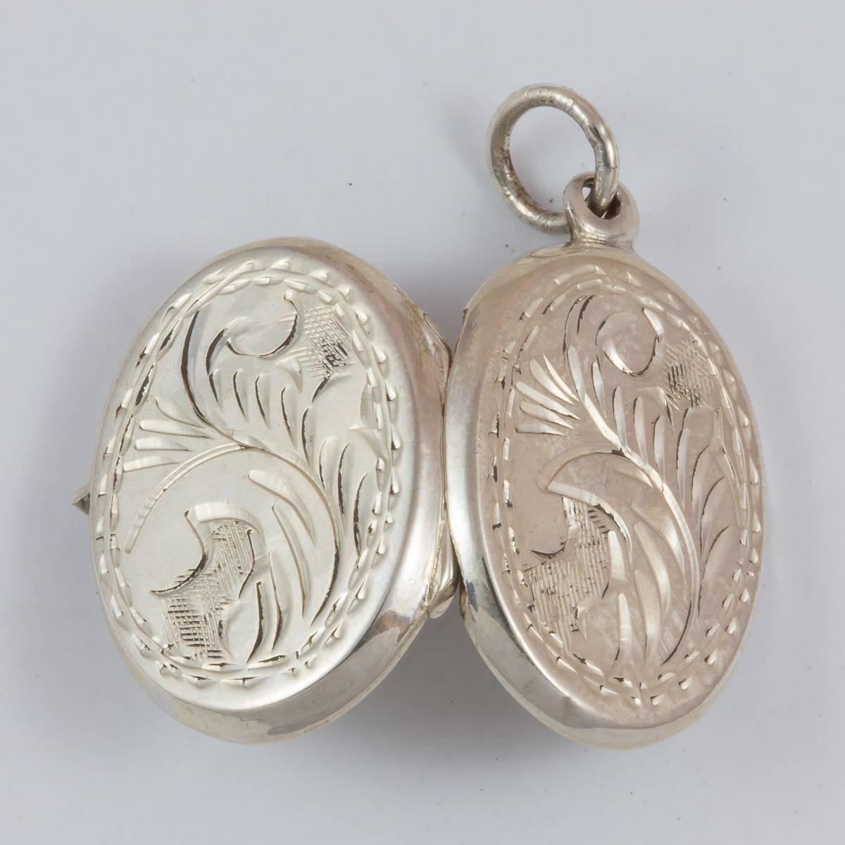 Medaillon oval, 20 mm