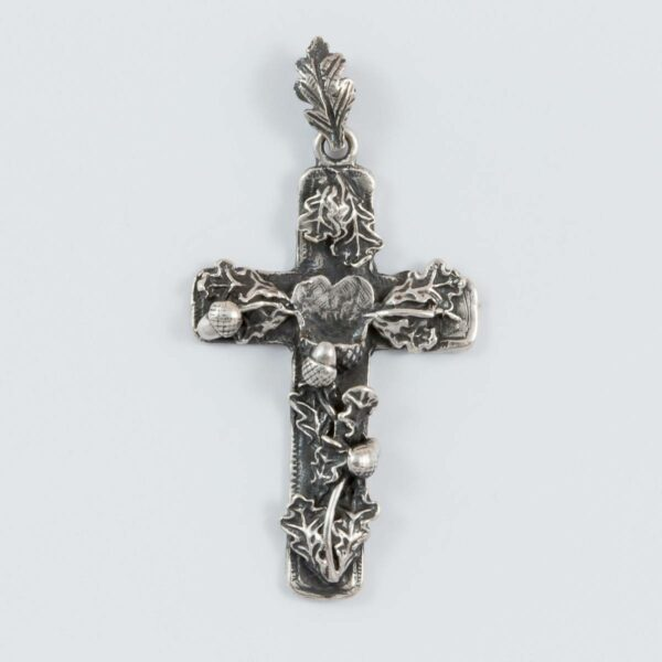 Trophäenfassung Grandel-Kreuz 1