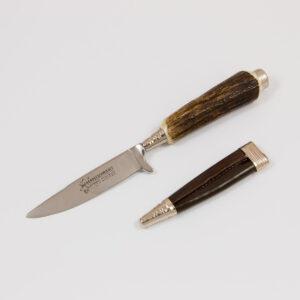 Lederhosen-Messer Hirschhorn-Griff